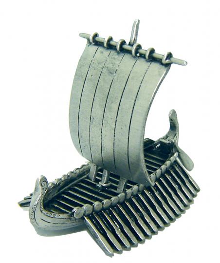 Wikingerschiff aus Zinn