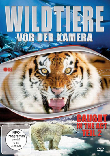 Wildtiere vor der Kamera - Teil 2 DVD