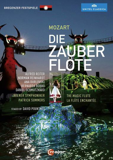 Wolfgang Amadeus Mozart. Die Zauberflöte. DVD.