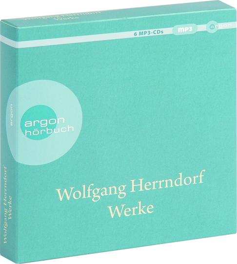 Wolfgang Herrndorf. Werke. 6 mp3-CDs.