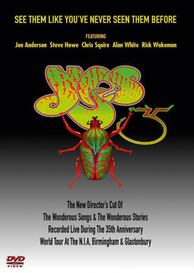 Yes. 35th Anniversary Tour - Directors Cut. 2 DVDs.