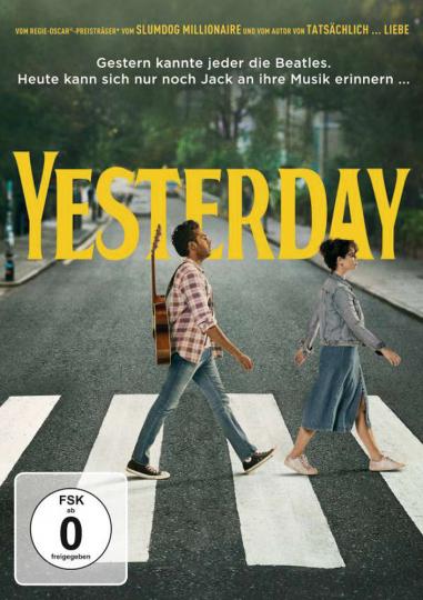 Yesterday. DVD