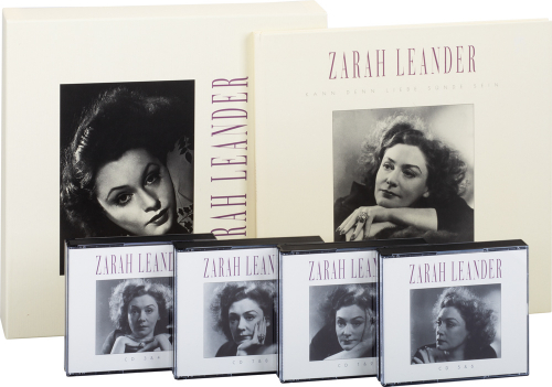 Zarah Leander. Kann denn Liebe Sünde sein. 8 CDs.