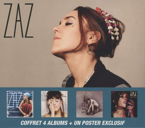 Zaz (Isabelle Geffroy). Box-Set. 5 CDs + 1 DVD.