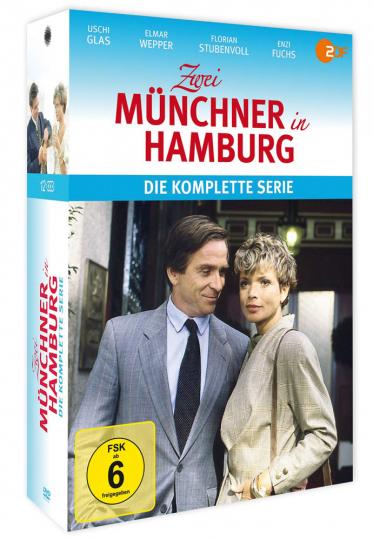 Zwei Münchner in Hamburg (Komplette Serie). 12 DVDs.