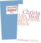 Christa Wolf. Mit anderem Blick. August. Erzählungen. 2 Bände. Bild 1