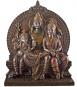 Götter Shiva, Parvati, Ganesha Bild 1