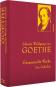 Johann Wolfgang von Goethe. Gesammelte Werke. Die Gedichte. Bild 1