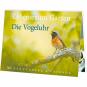 Lebensraum Garten: Die Vogeluhr - Postkartenbuch Bild 1