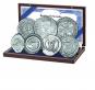 Münzset Bernsteinstraße - 7 Original-Münzen und 1 echter Bernstein Bild 1