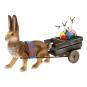 Ostergespann »Hase mit Wagen«. Bild 1