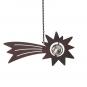 Sternschnuppe aus Metall. Bild 1