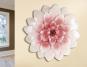 Wandrelief Blüte. Bild 1