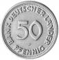 4er-Münzsatz 50 Pfennig - Prägejahr 1949 Bild 2