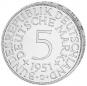 5 DM-Münze Silberadler - Der legendäre 'Heiermann' 4 Münzen im Set Bild 2