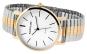 Bicolor-Armbanduhr für Herren. Bild 2