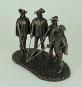 Bronzefigur 3 Musketiere und D'Artagnan. Bild 2