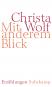 Christa Wolf. Mit anderem Blick. August. Erzählungen. 2 Bände. Bild 2