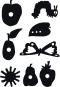 Die Welt von Eric Carle. Die kleine Raupe Nimmersatt. Schattenspielfiguren. Bild 2