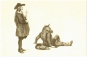 Jean de La Fontaine. Das große Fabel-Buch. Mit 35 farbigen Bildern von Jan Peter Tripp. Limitierte Vorzugsausgabe. Mit signierter Original-Radierung von Jan Peter Tripp. Bild 2