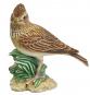 Porzellanvogel Feldlerche, klein. Bild 2