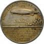 Silbermedaille Deutsches Reich 1924 »Zeppelin« Bild 2