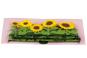 »Sonnenblumen« Pop-up-Grußkarte. Bild 2
