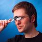 Flip & Focus Lupe in Brillenform Bild 3