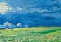 Servierbrett »Van Gogh Weizenfeld unter einem Gewitterhimmel«. Bild 3