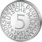 5 DM-Münze Silberadler - Der legendäre 'Heiermann' 4 Münzen im Set Bild 4
