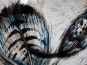 Glasvase »Pfauenfeder«. Bild 4