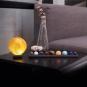 Sonnensystem aus Halbedelsteinen. Bild 4