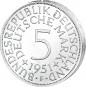 5 DM-Münze Silberadler - Der legendäre 'Heiermann' 4 Münzen im Set Bild 5