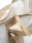 Segeltuch-Rucksacktasche »Ketsch Mini«, weiß/grau. Bild 6