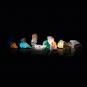 Sonnensystem aus Halbedelsteinen. Bild 7